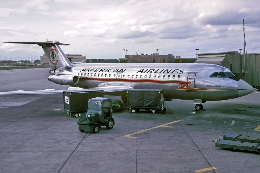 BAC 1-11-400 American Airlines